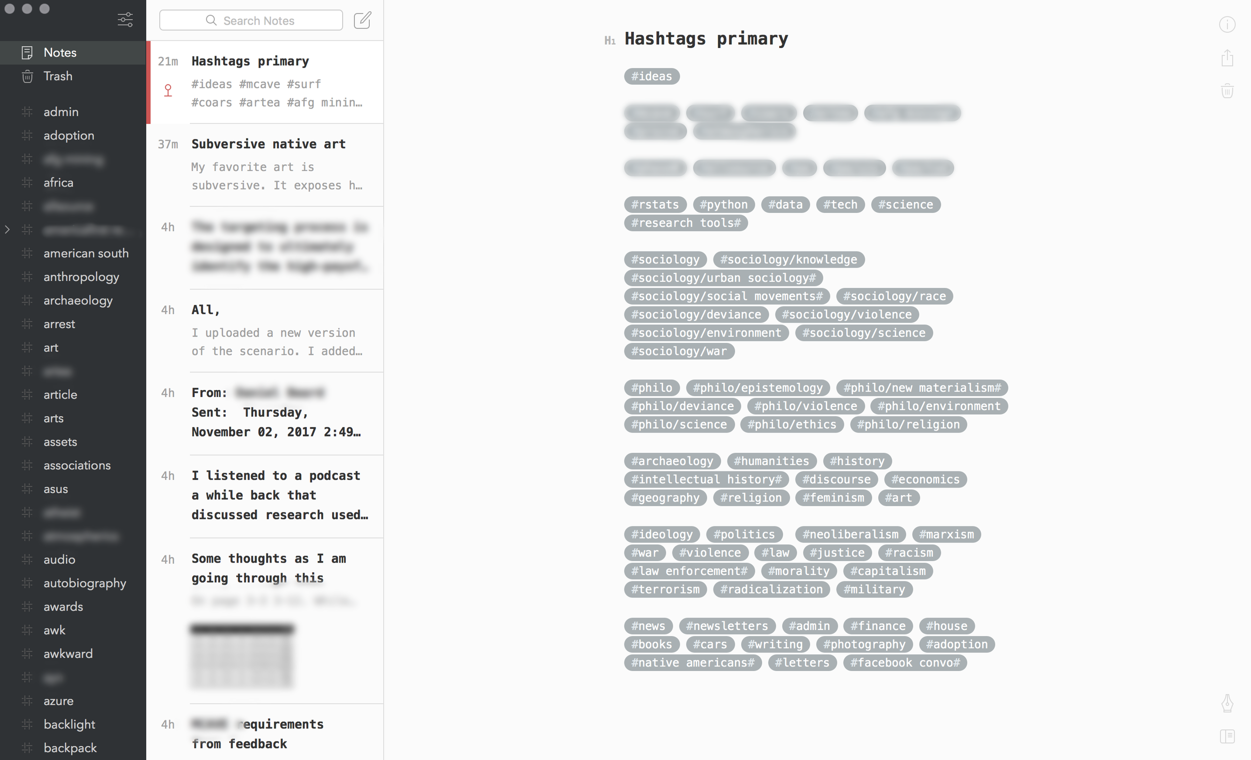 To Bear from Evernote and Simplenote — 18 Chains