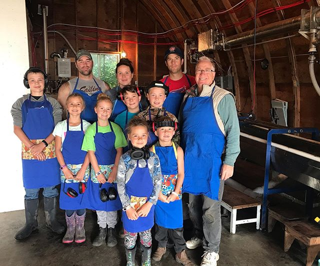 We've been silent for some time- but we have to give THANKS! Introducing this years extracting crew. It couldn't have gone any better and we are so grateful. They worked hard! And so did the bees! We are blessed to offer this beautiful prairie honey. Happy Harvest 2019🍯!