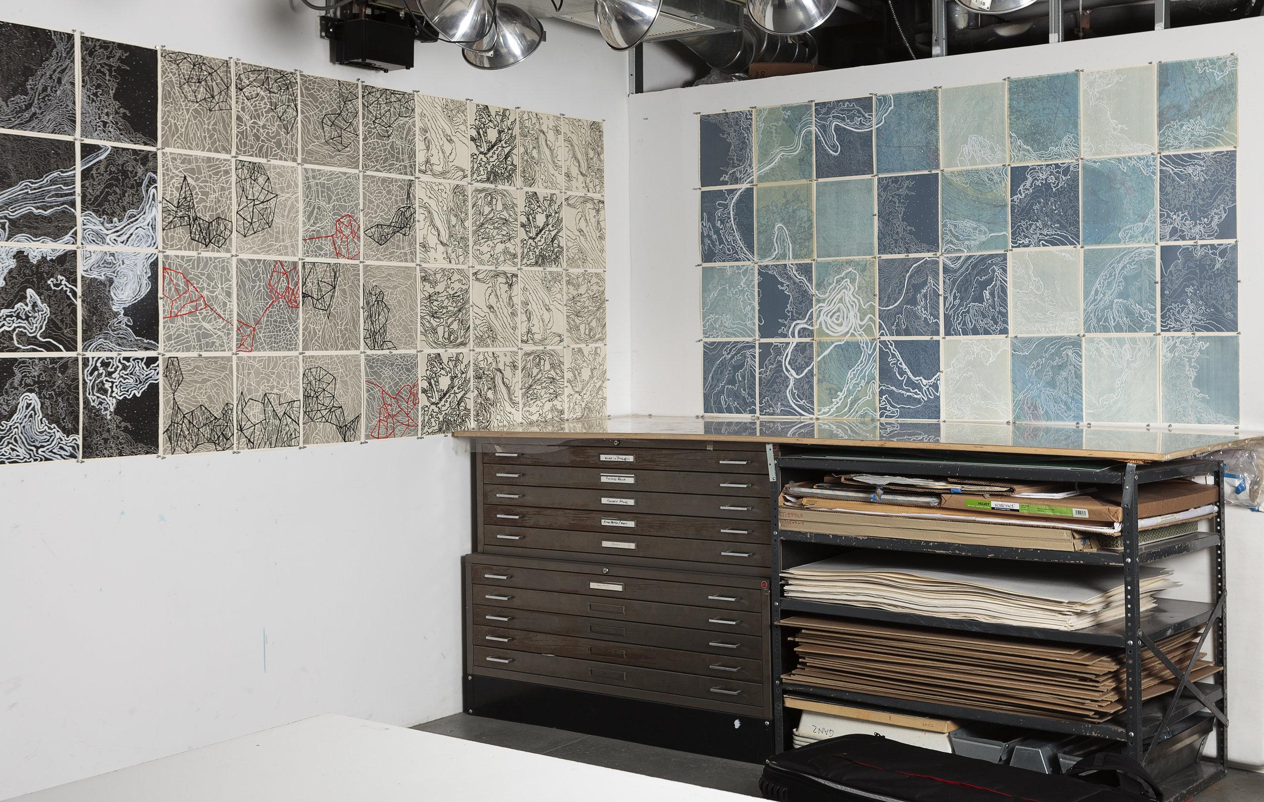 Studio Installation, 2017