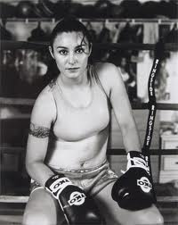There are a lot of beautiful women in the sport of boxing, who not only train, but compete, such as Jackie Chavez.