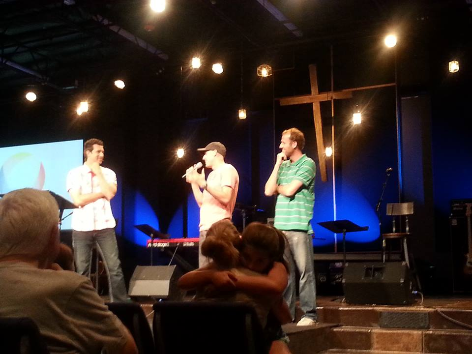 Enfoque Ciudad is proud to partner with Bridgeway Christian Church in Rocklin, CA, which sent out Darren and Justin as missionaries to Mexico on August 18, 2008, presenting alongside pastor Lance Hahn.