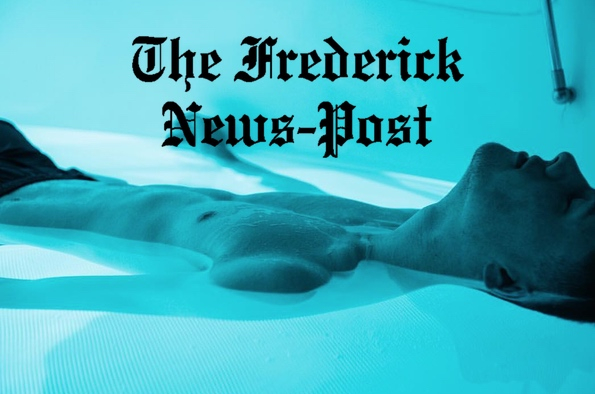 Frederick News Post Floats At Regenerate Float Center