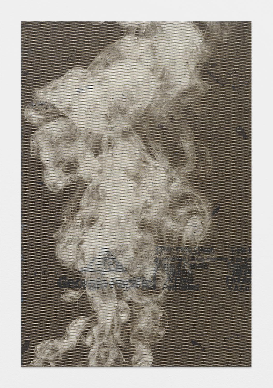 4' x 6' 2015    OSB, Inkjet on Perforated Vinyl, Matte Medium
