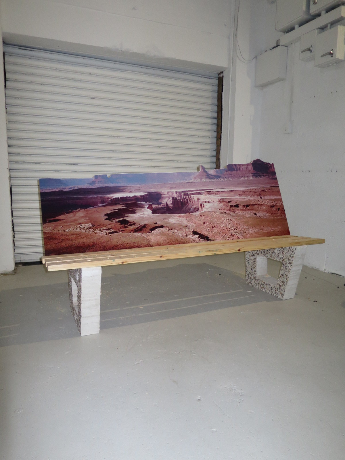 Grand Canyon bench