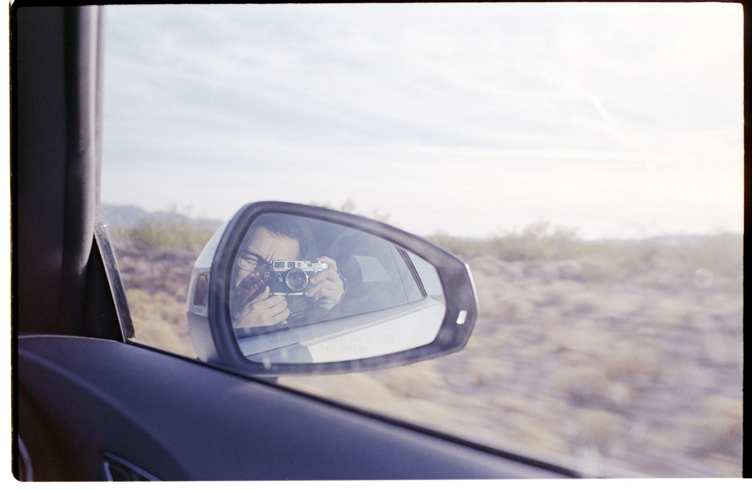 Dessert selfies in Nevada