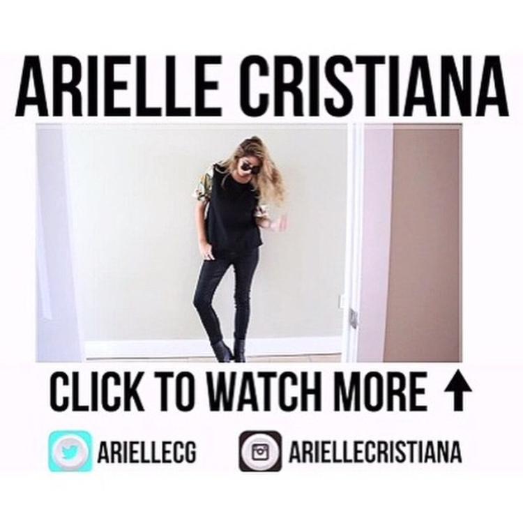 "ARIELLE CRISTIANA ON YOUTUBE ""WEEKEND LOOK BOOK #1 FALL '14"" NOVEMBER 2014"