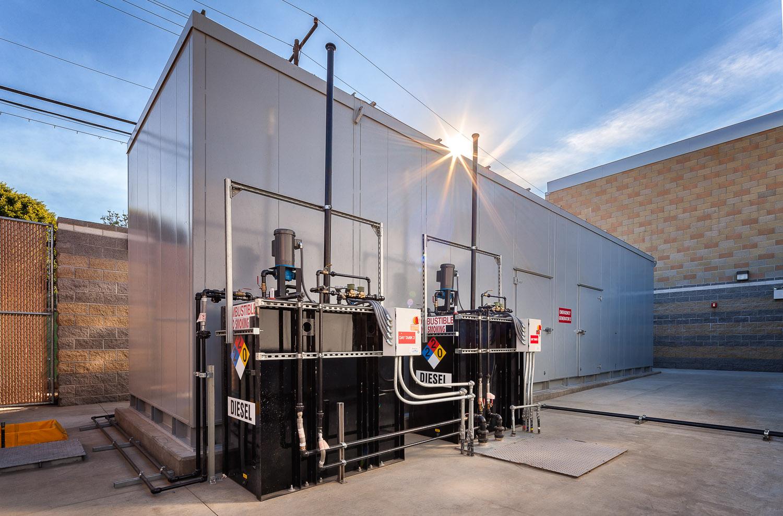 Emergency Generator Facility- Centinela Hospital