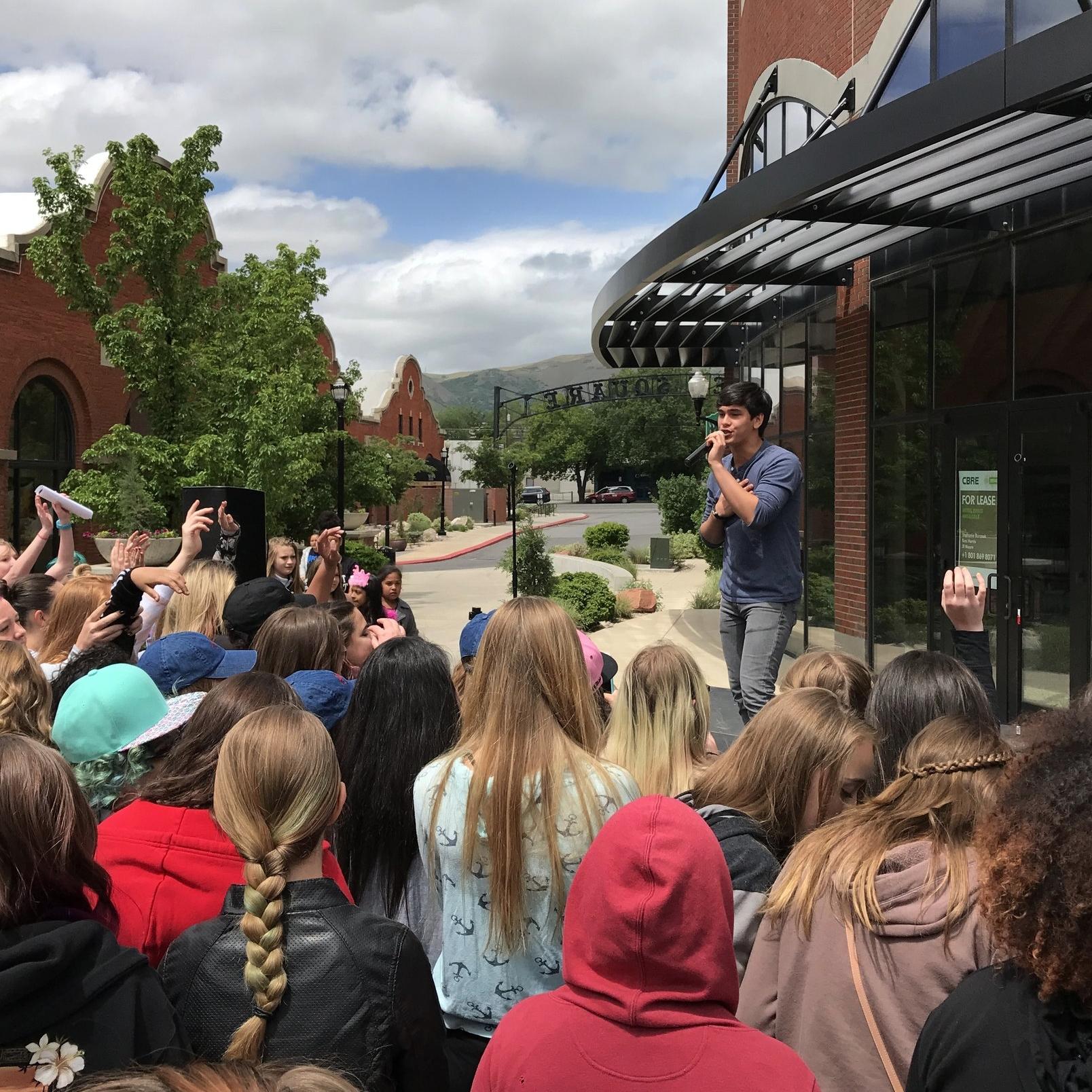 Outdoor performance in Salt Lake City, UT