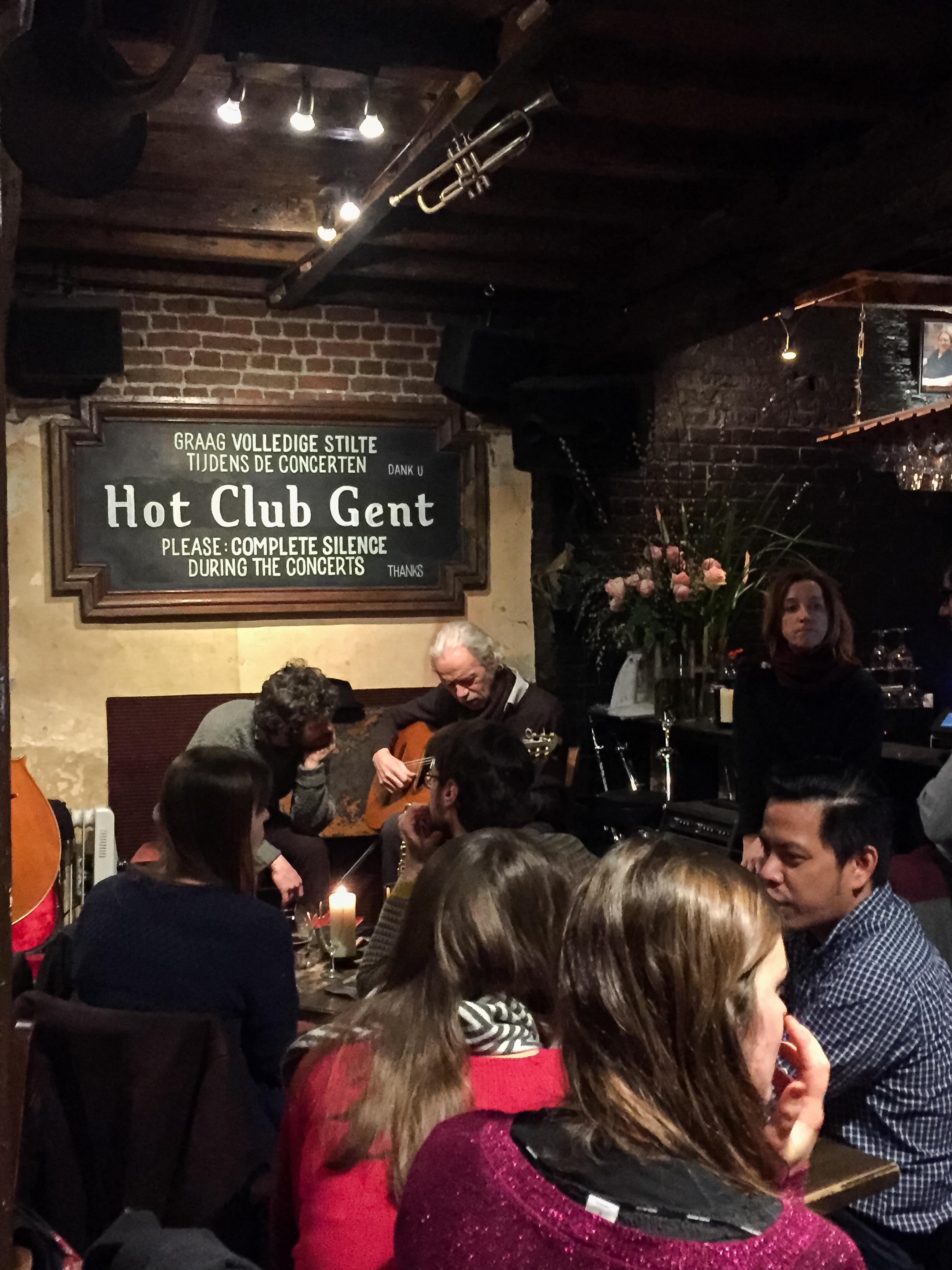 Hot Club Gent (jazz bar)