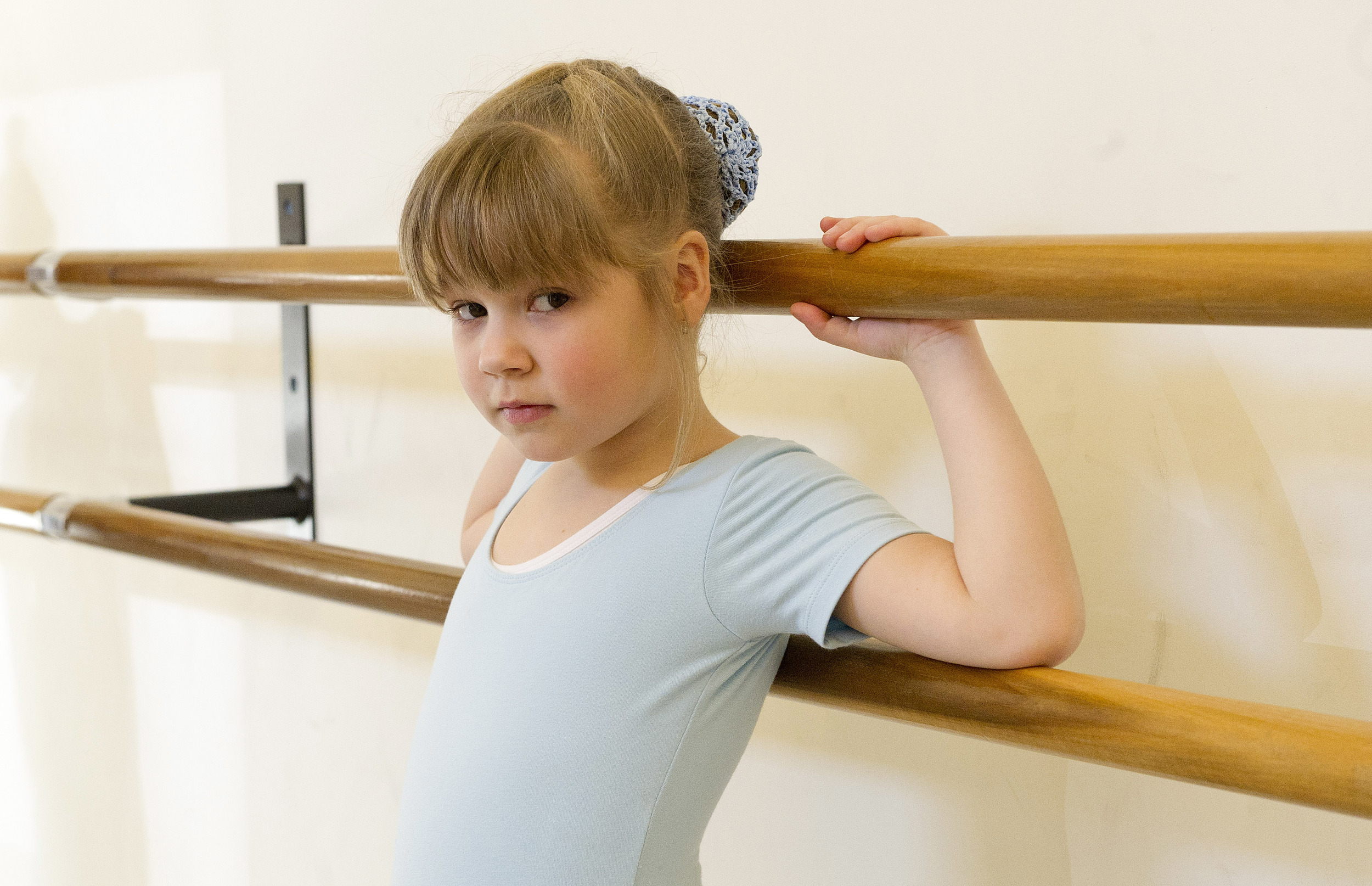 Mariya Pychil practices ballet during a lesson at The Ballet School of Stamford on Thursday, March 14, 2014. The school is a recipient of a grant from the Community Arts Partnership Program.