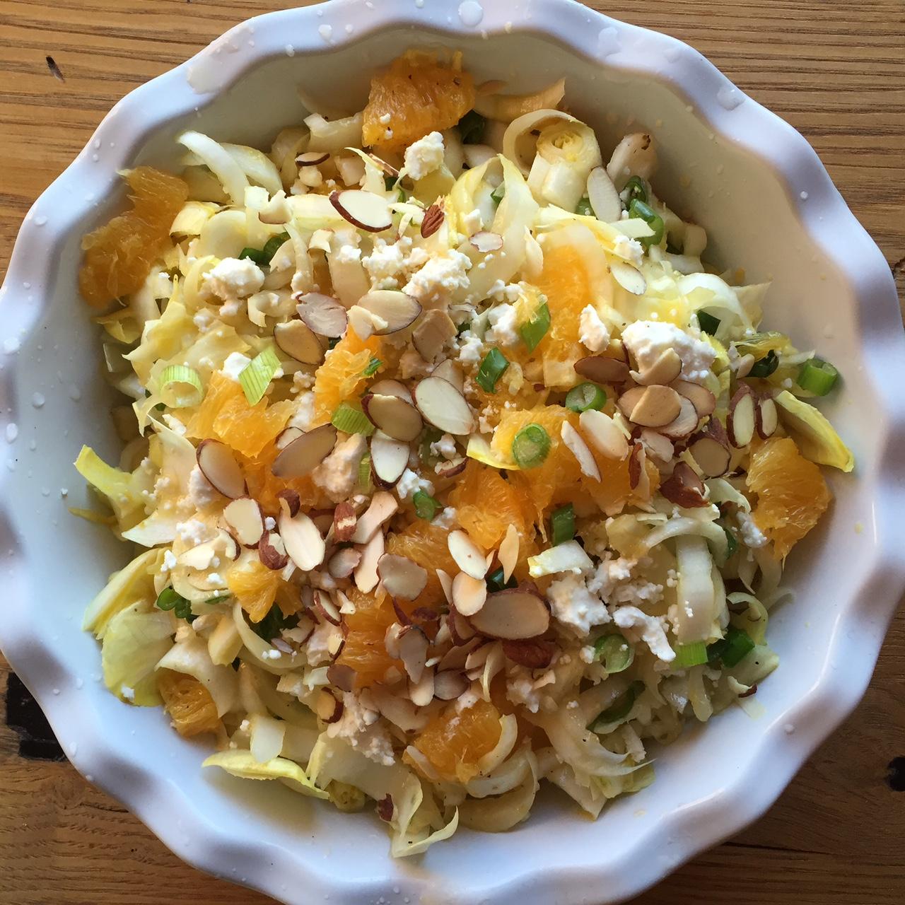 endive orange salad