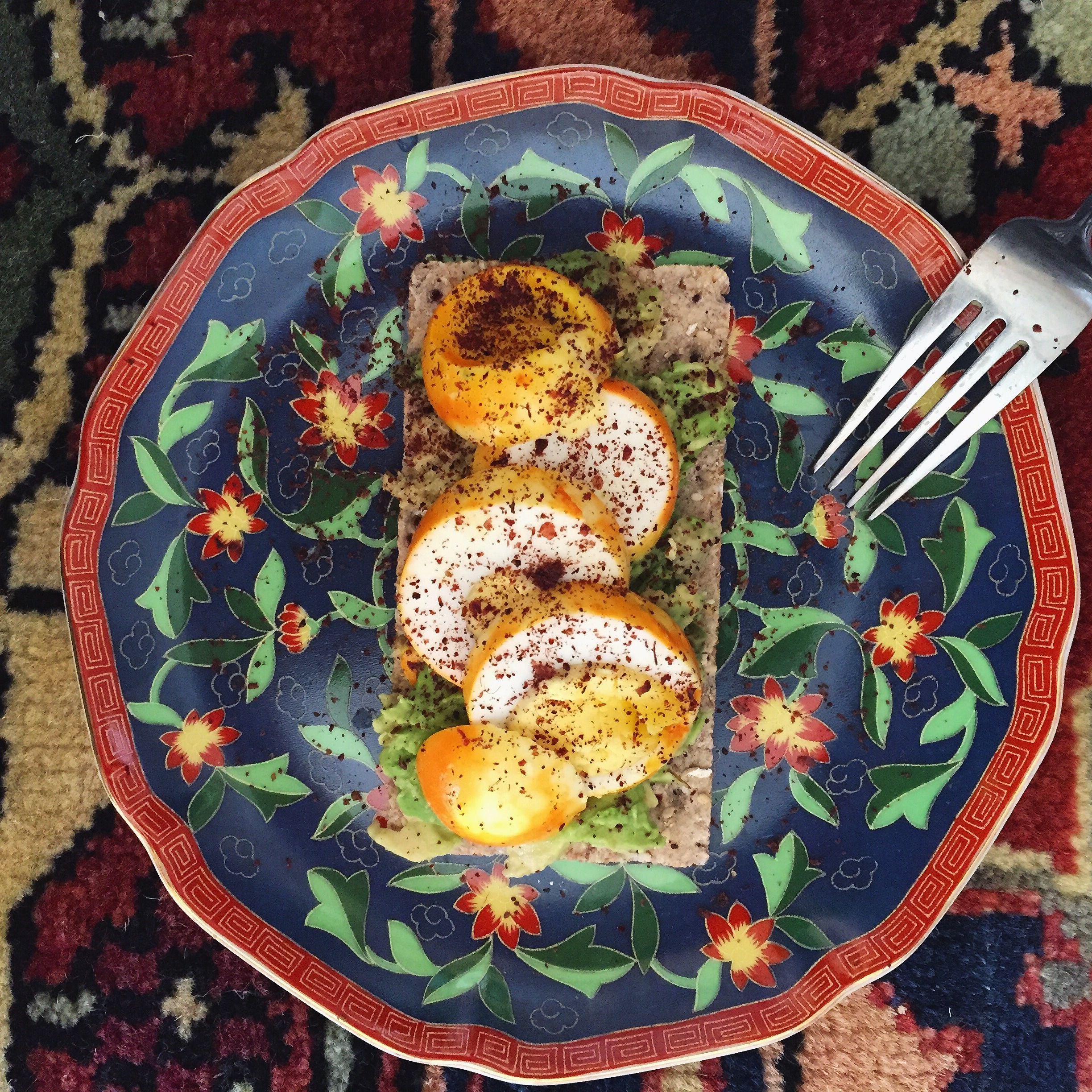 Turmeric Egg Avocado Toast