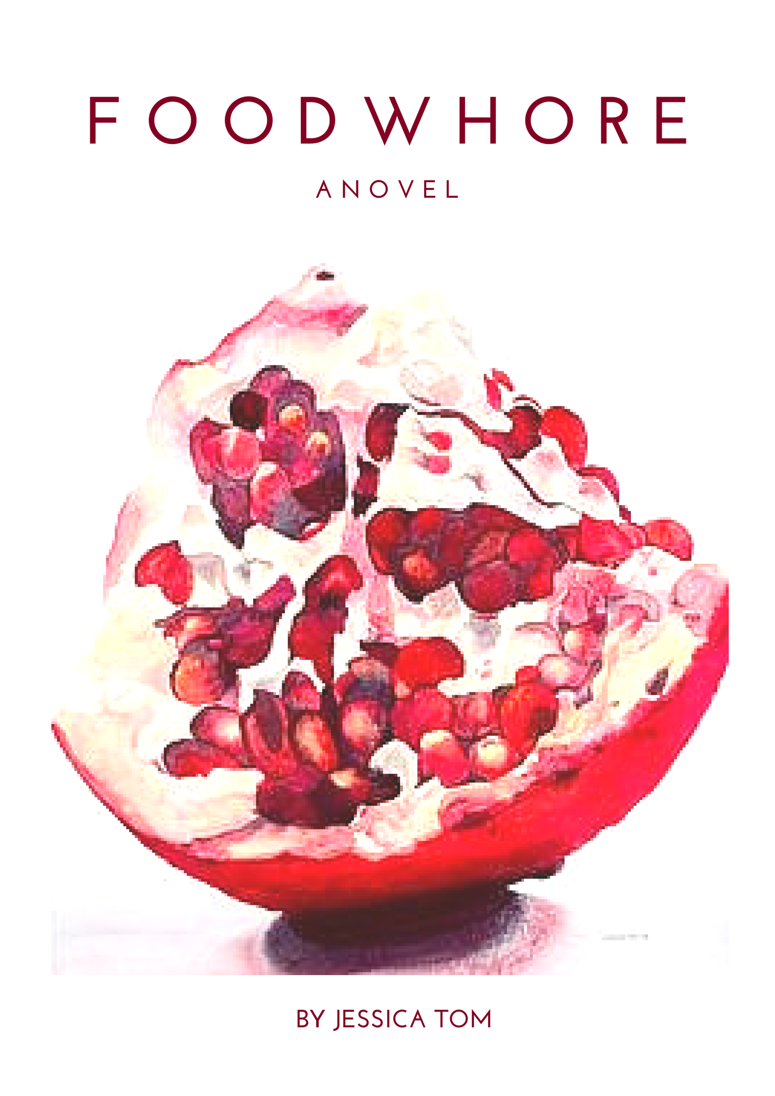 an early mock-up of the cover