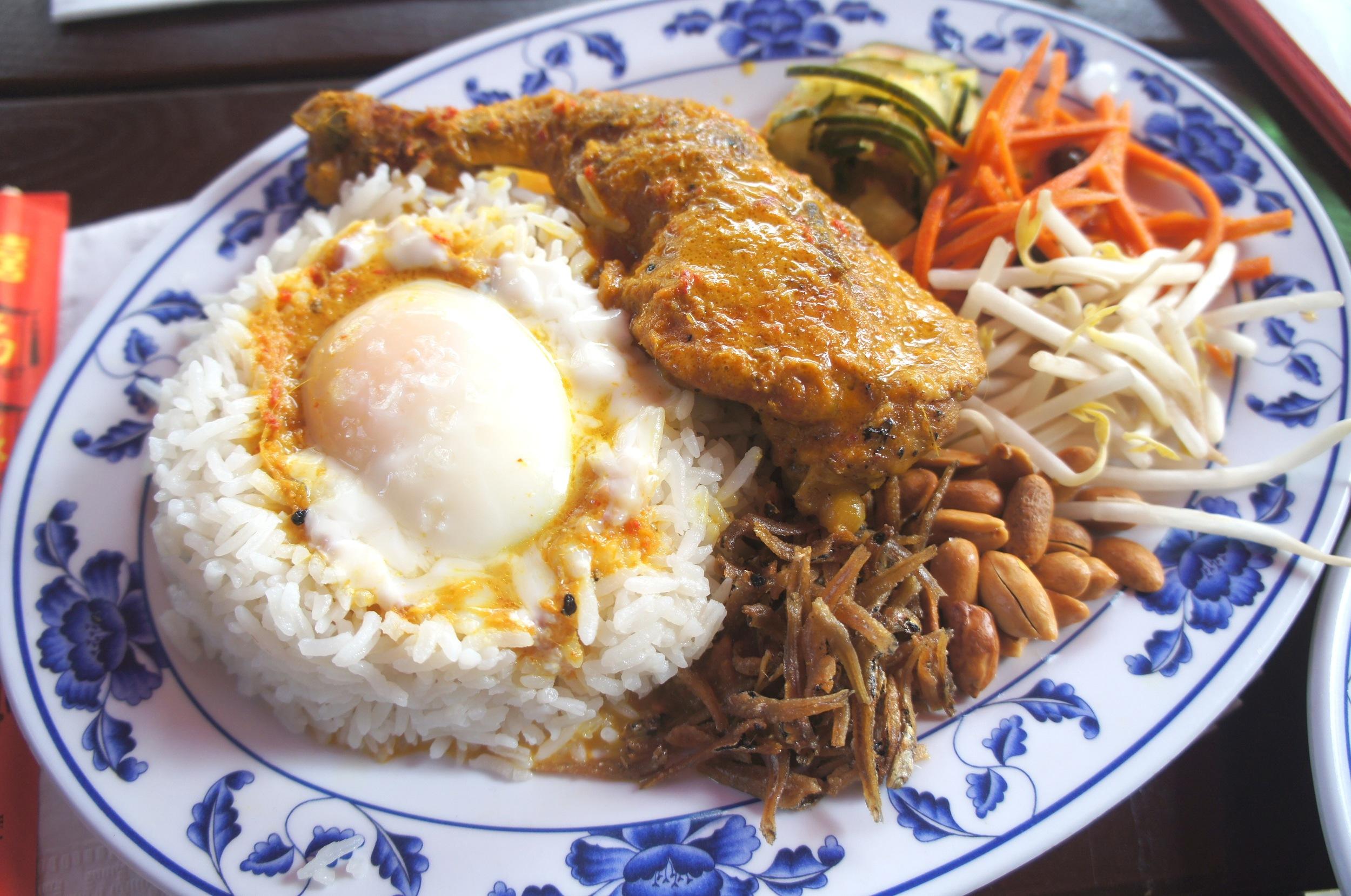 nasi lemak at Fatty Crab (photo by  travelchictv )