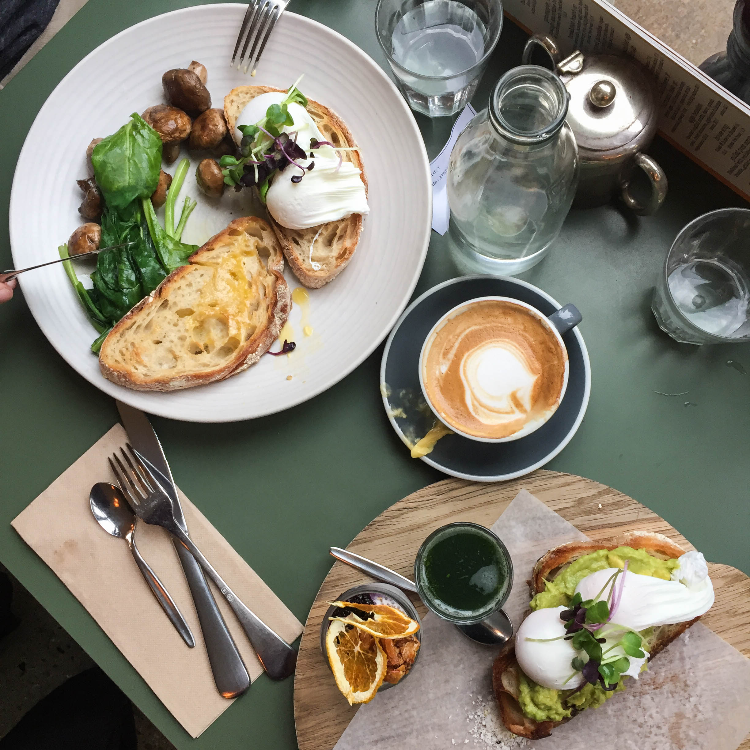 Brekkie at Bespoke Kitchen in Queenstown, New Zealand