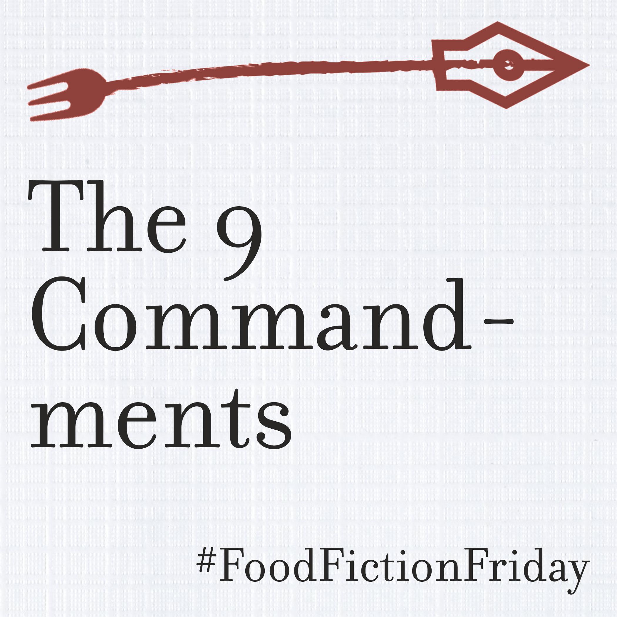 food fiction writing