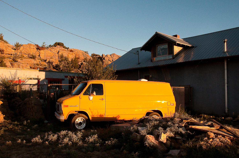 Yellow Van,  Cubero, NM
