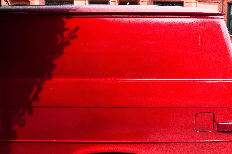 Red Van Detail  ,  Crown Heights, Brooklyn, NY