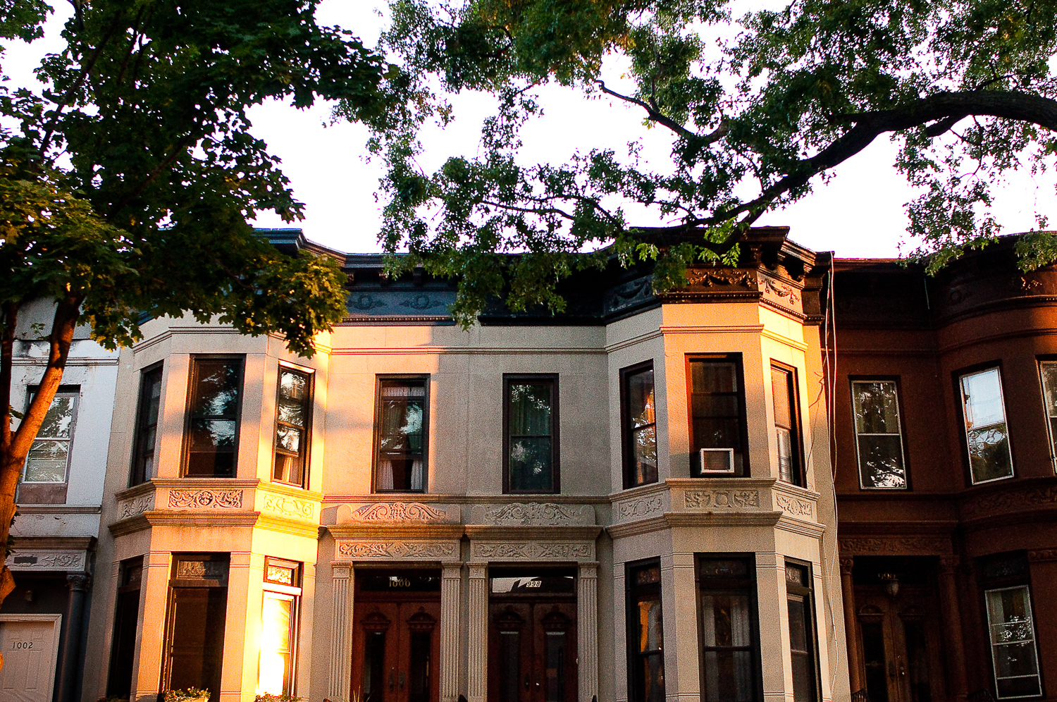 Sunset Reflection,  Crown Heights, Brooklyn, NY