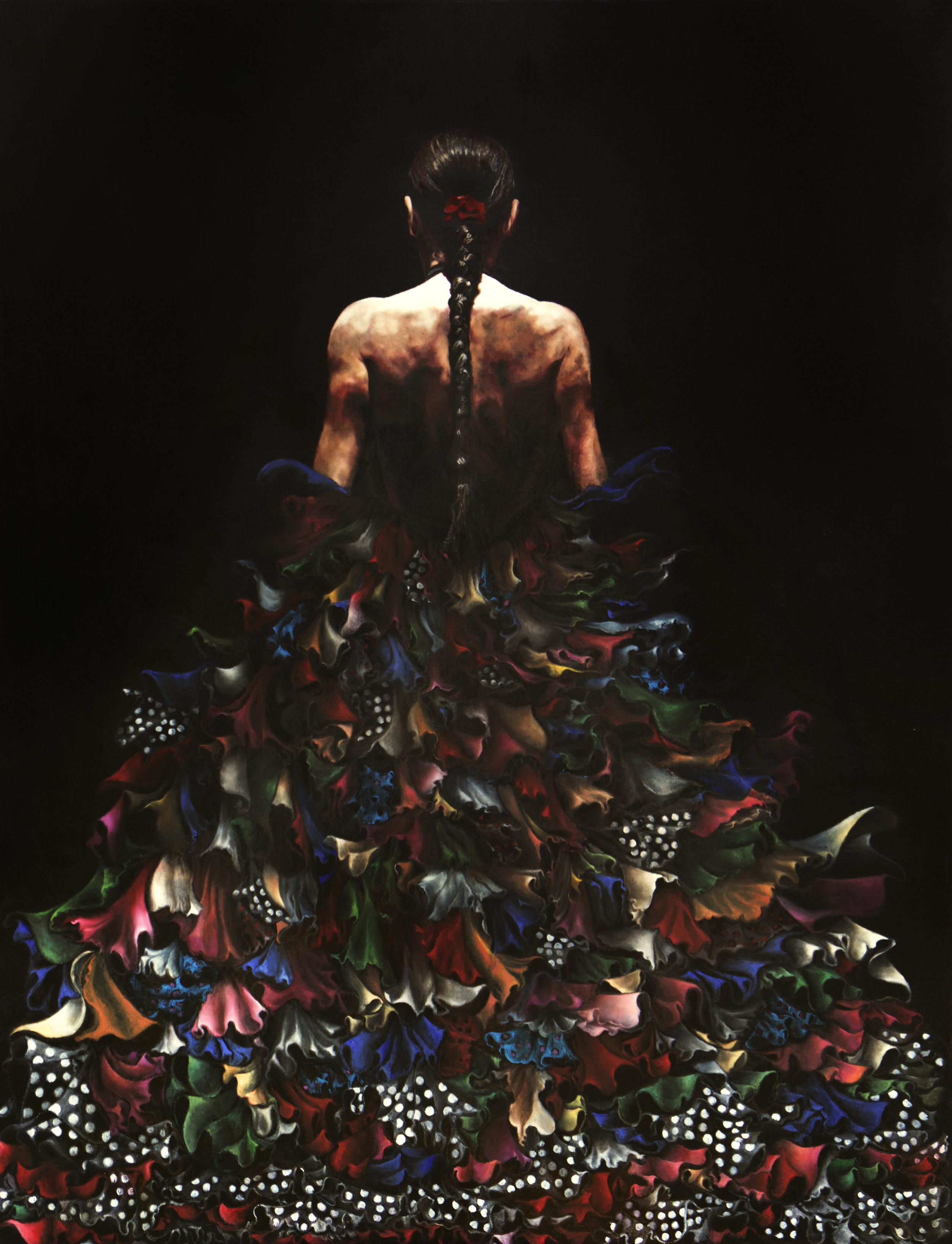 Sara's Dances   Original oil on canvas 36'x 48'