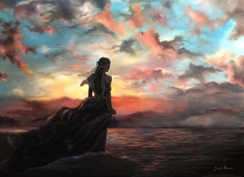 Breathe  Original oil on canvas 30' x 40'