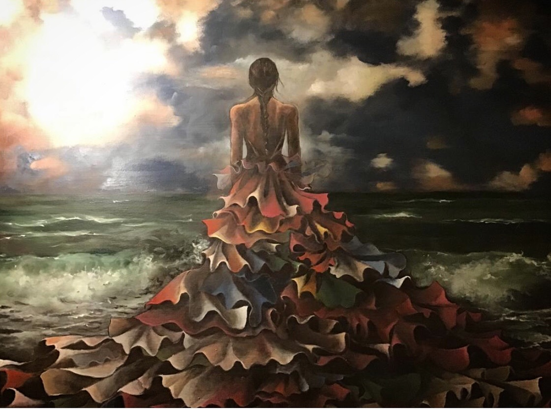 Finding the Light   Original oil on canvas 24' x 30'