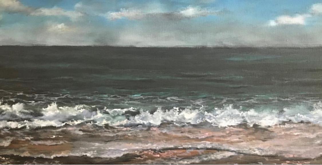 Mar V   Original oil on canvas 36'x 48'