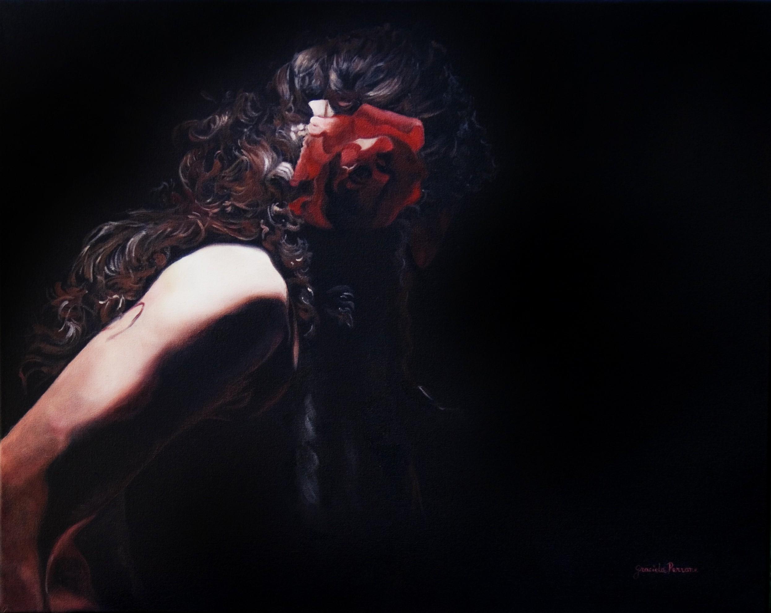 Rose of Granada   Original oil on canvas 30' x 40'