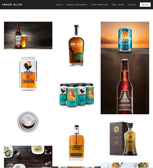 Site upgraded with a new 'Food and Drink' gallery #beveragephotography #foodphotography #imagealive