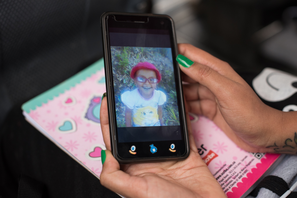 """Sofía is now six and lives with her father, an hour bus ride away from Bello. Andrea can only afford to visit once a month. When asked why she wanted to have a child she responded """"I always felt alone, and I thought with a baby I wouldn't."""""""