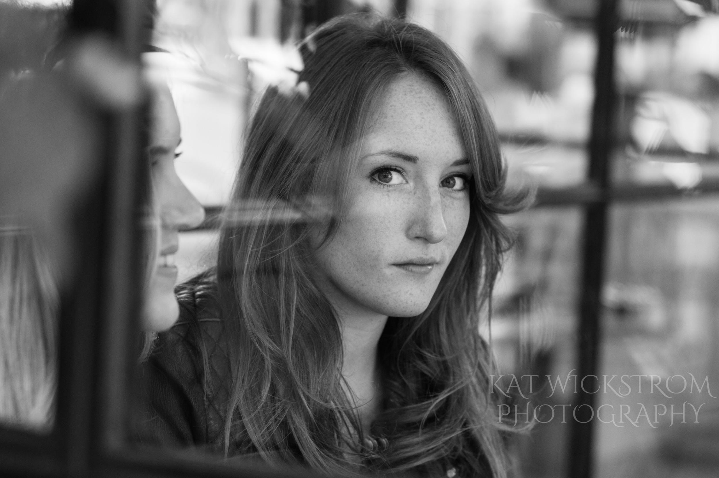 Arts District Headshot Portrait Window Photo