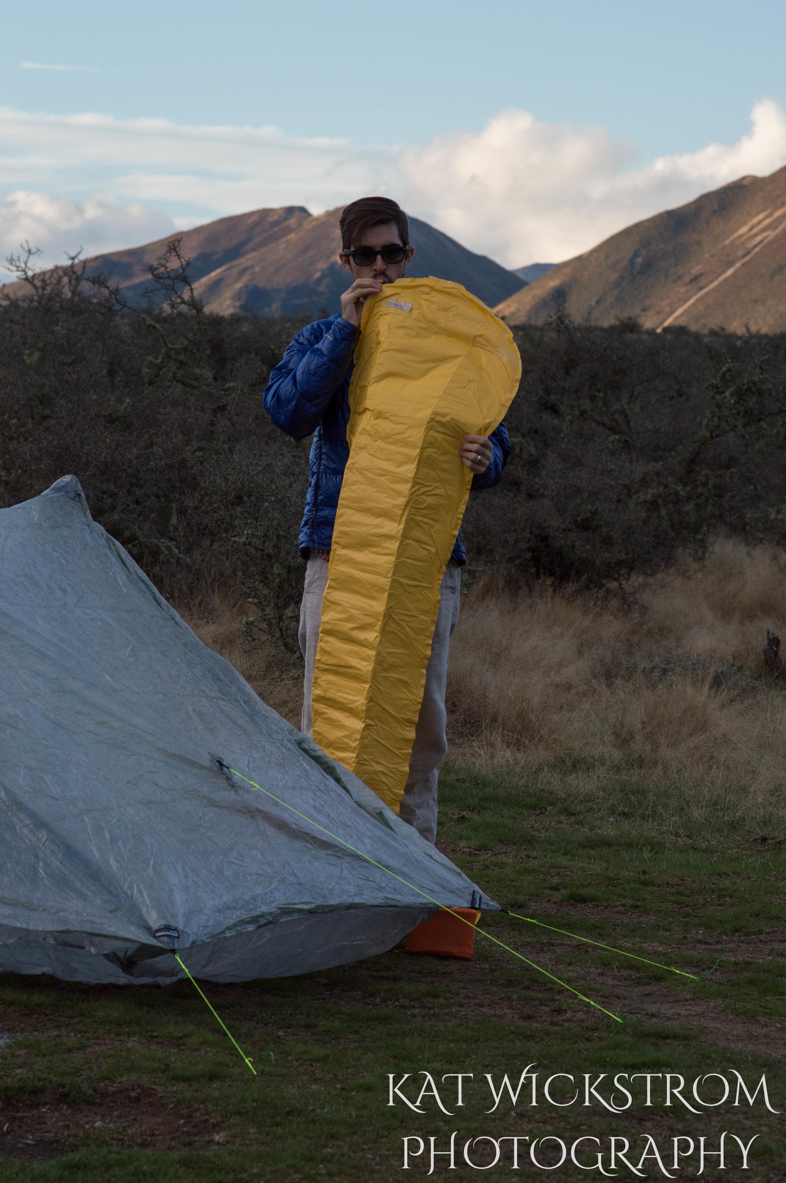 South Island New Zealand Portrait Outdoors Husband Photo
