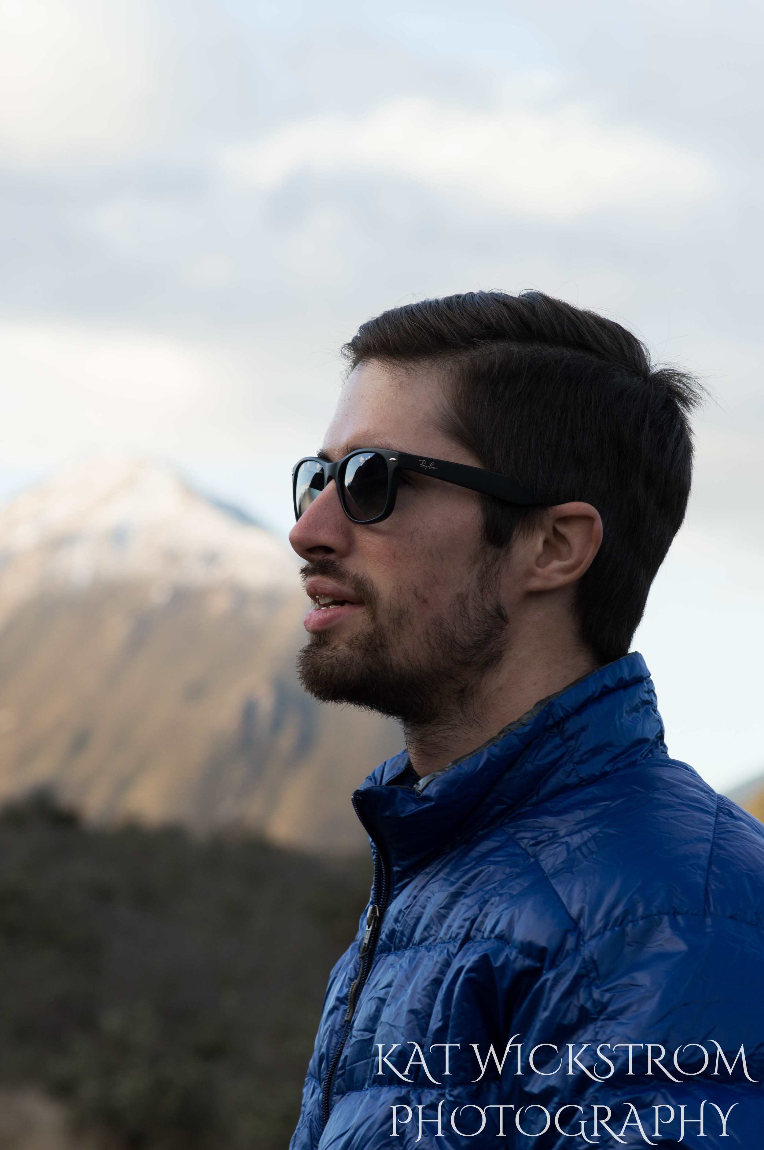 New Zealand Husband Outdoor Travel Photo