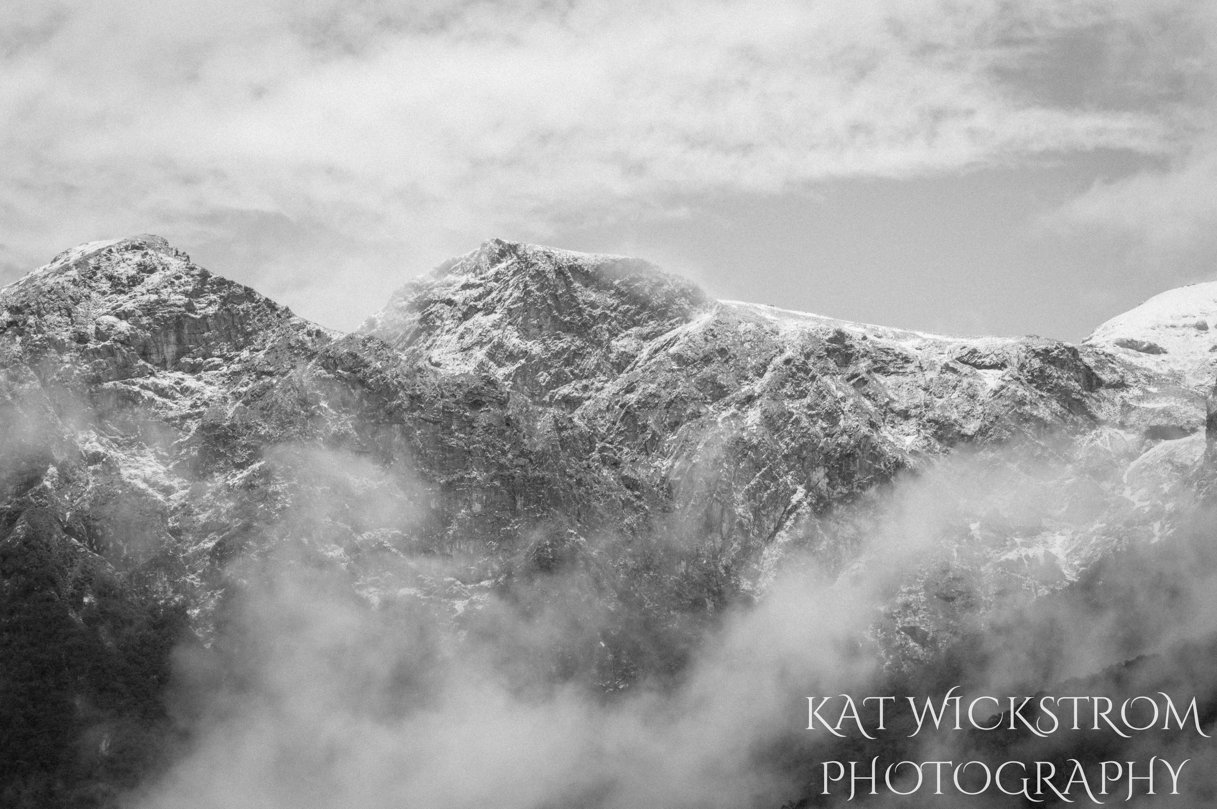 New Zealand Outdoor Landscape Mountain Photo