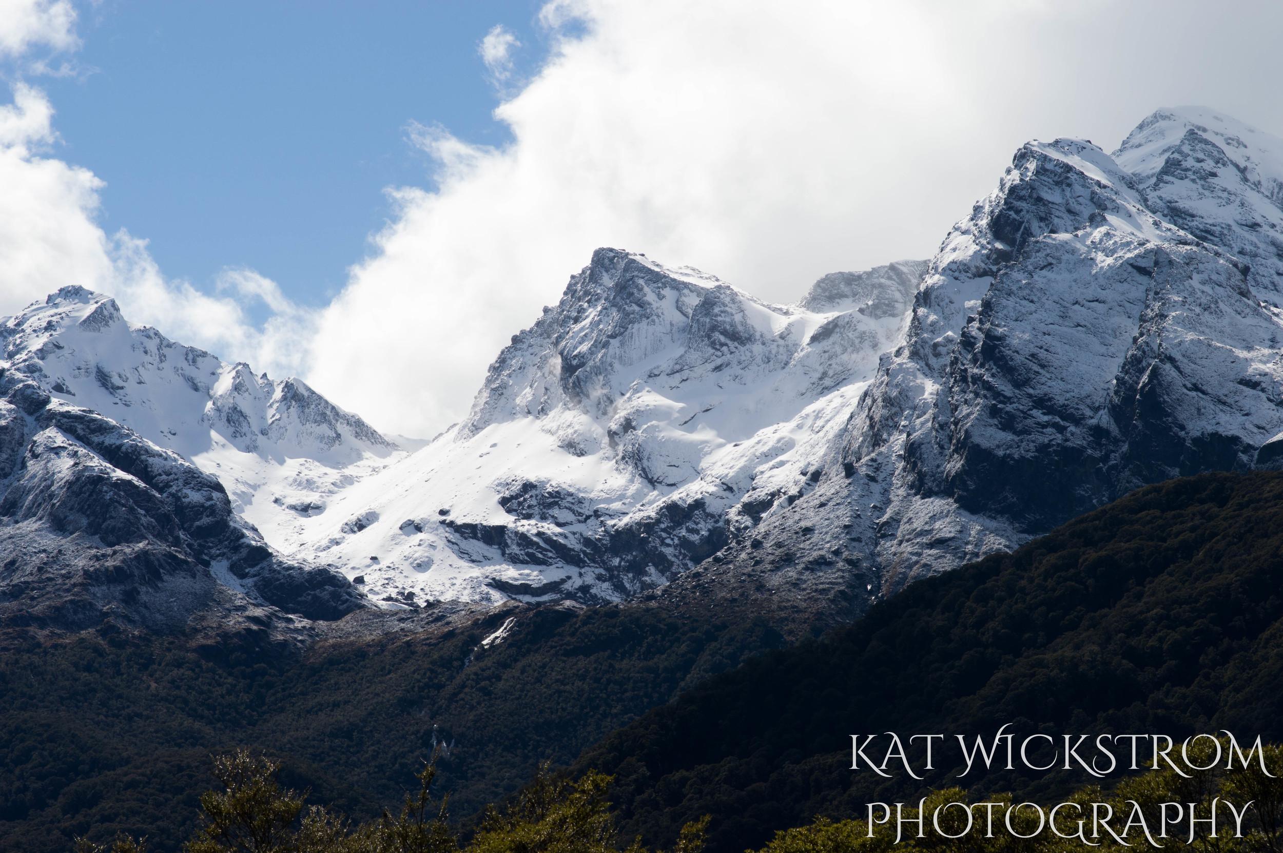 Mountains of New Zealand Travel Landscape Photo
