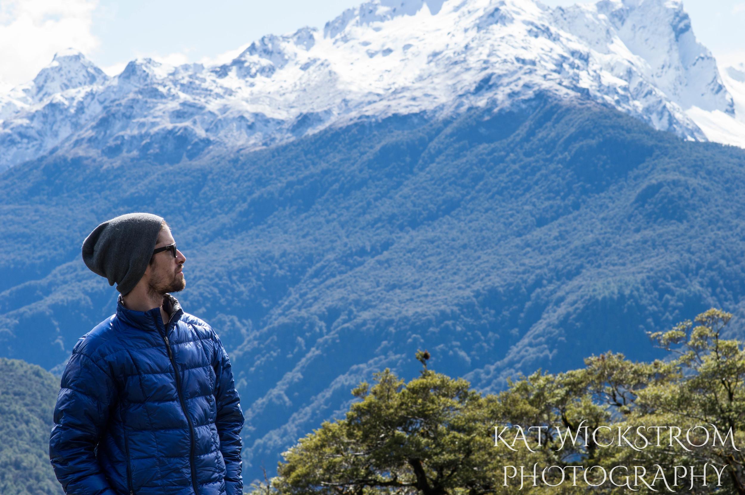 New Zealand Portrait Travel Photo