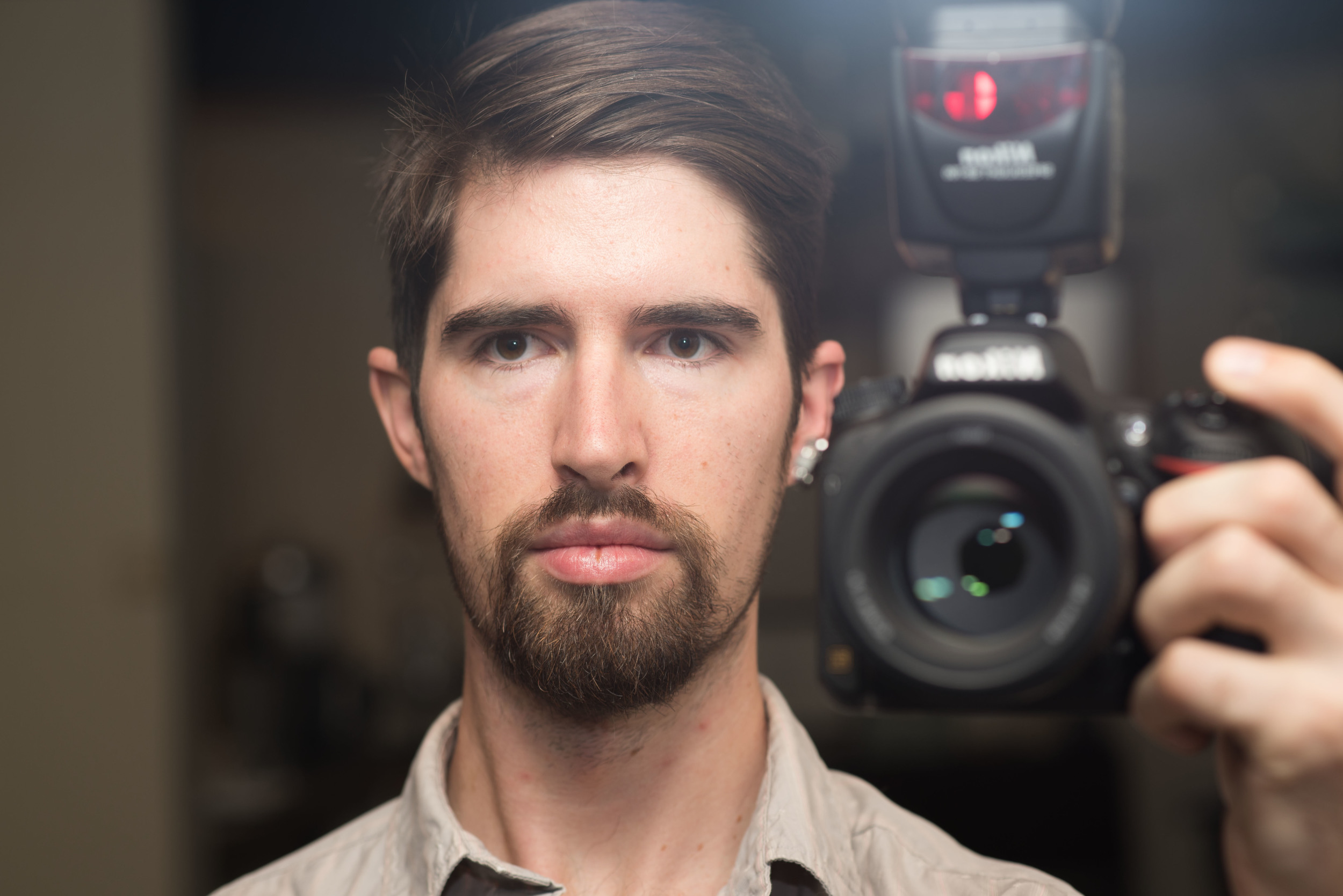 Nikon D750 Test Shot Selfie