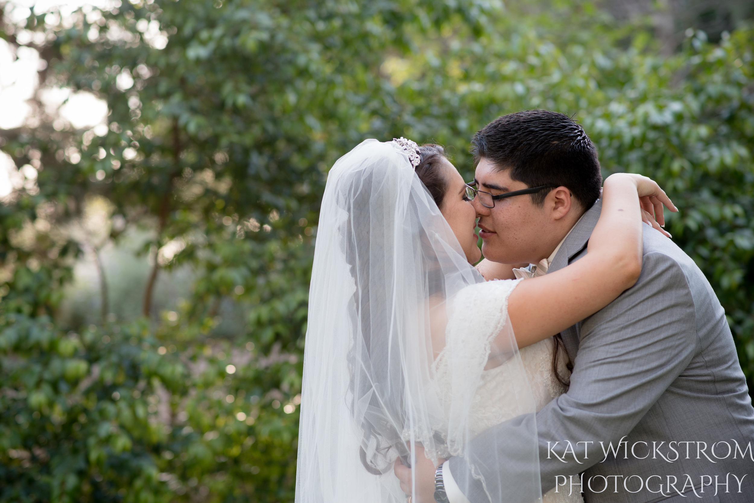 UCI Wedding Bride and Groom Portrait Photo