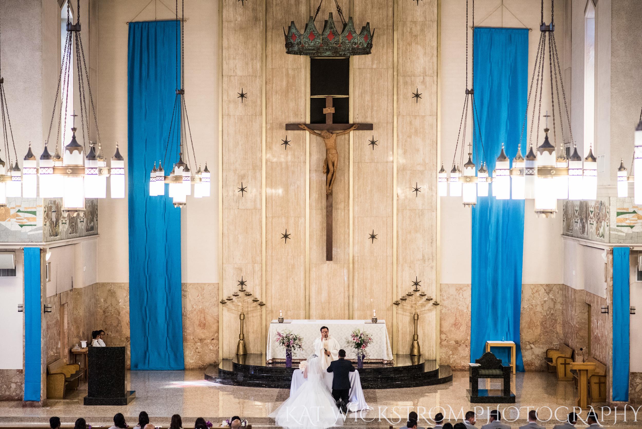 How amazing was this Catholic church ceremony?