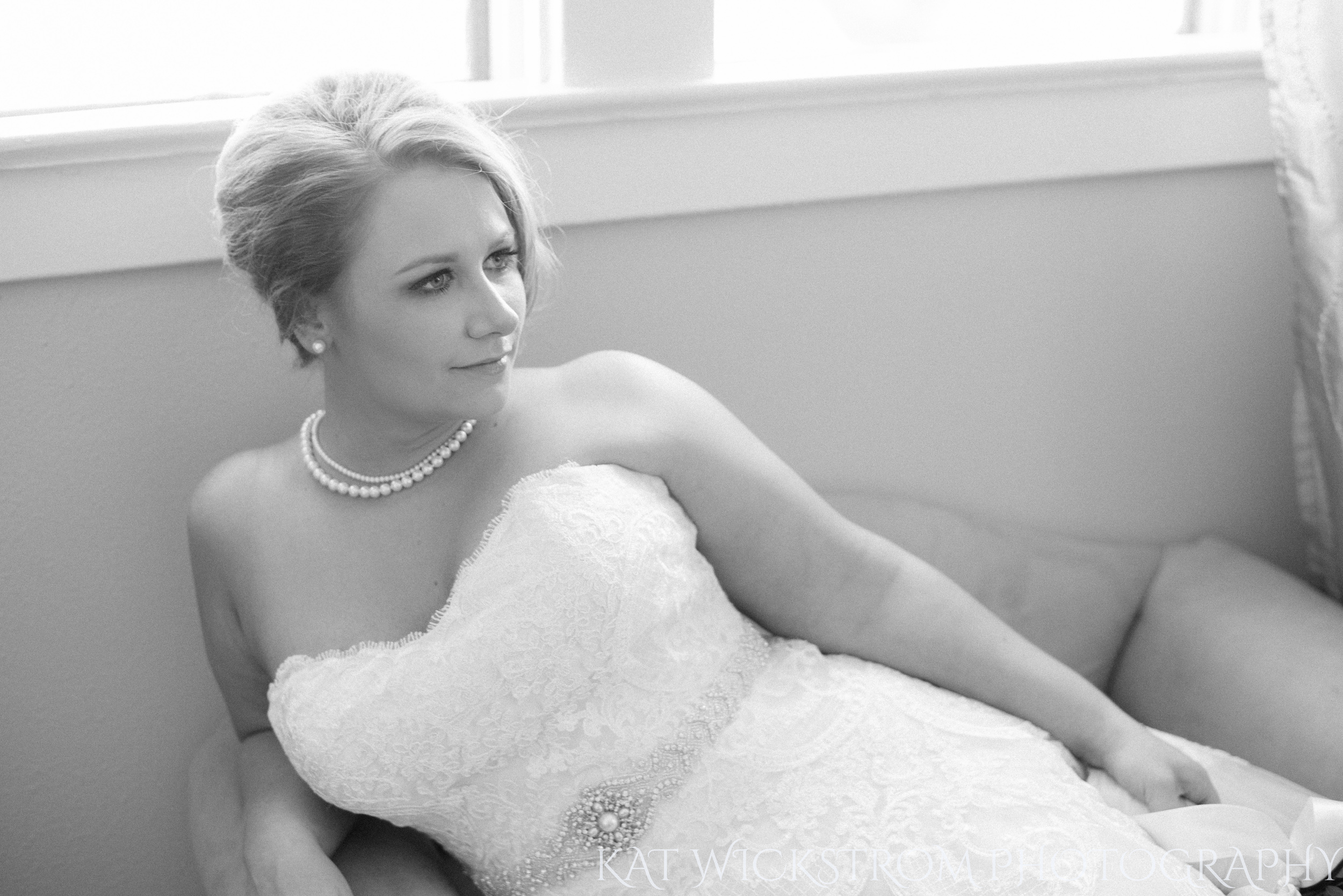 How stunning is this bride?!
