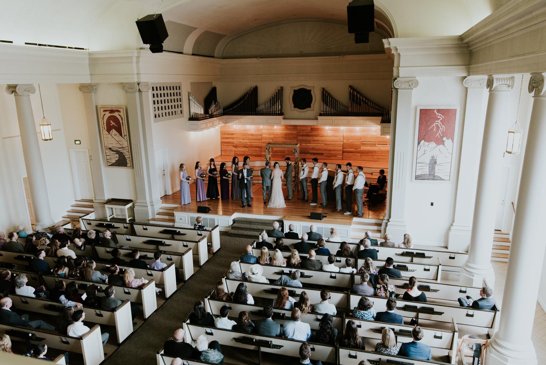 Park Church Denver Wedding