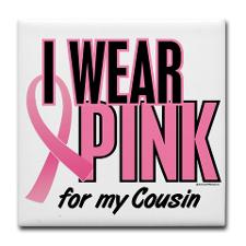 My cousin Becky fought breast cancer to the very end. She is my hero.