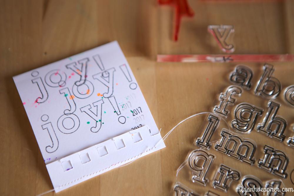Cute stamp set by  CZ Design .