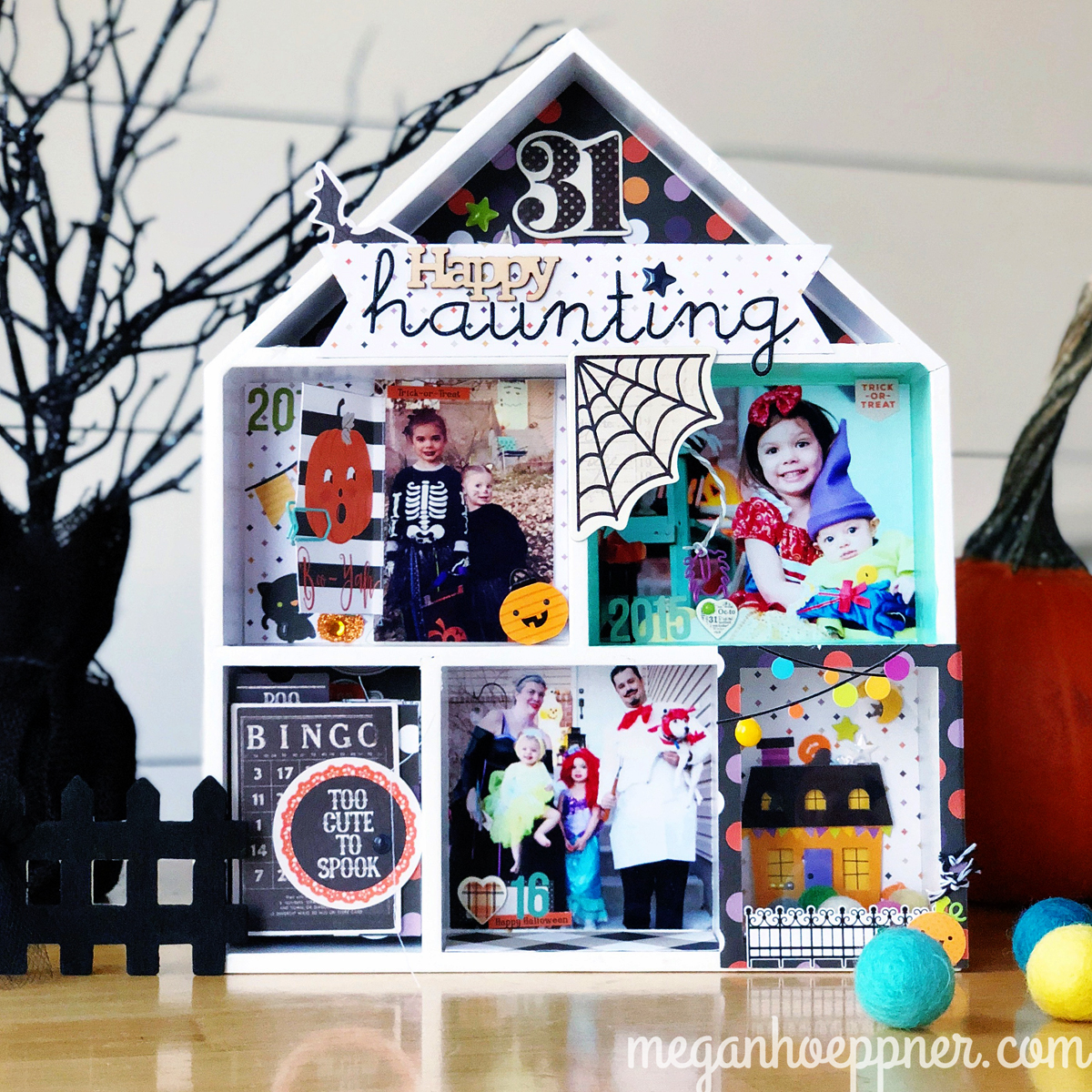 house shadow box project
