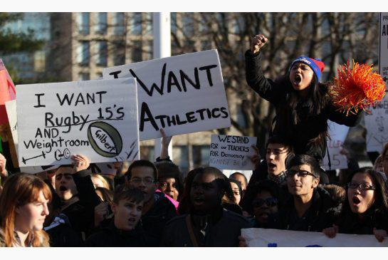 Strike For Extra-curriculars