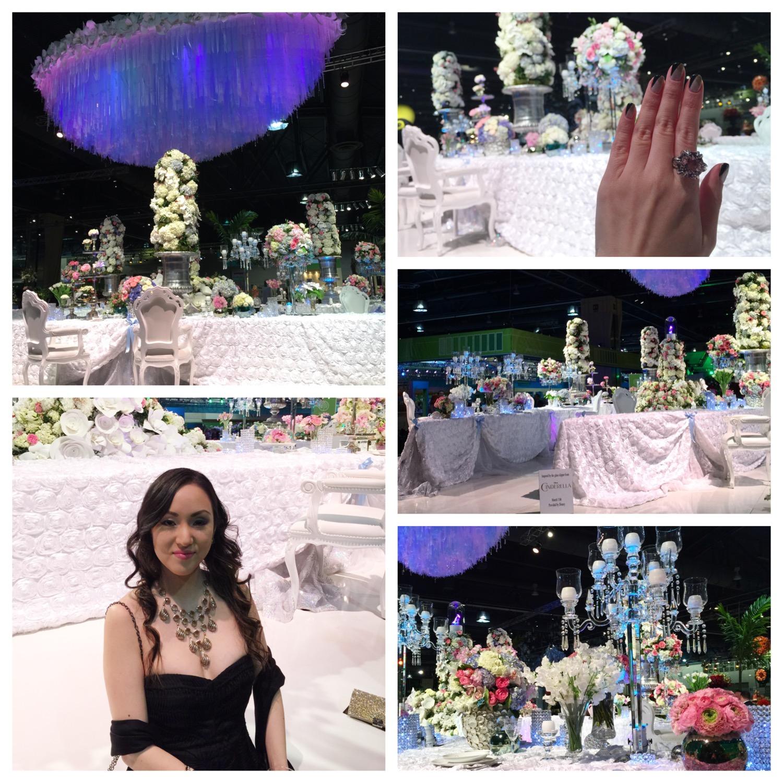 Cinderella Inspired Floral Set Up