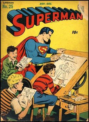 Superman Nov-Dec 1943; my dad was 7