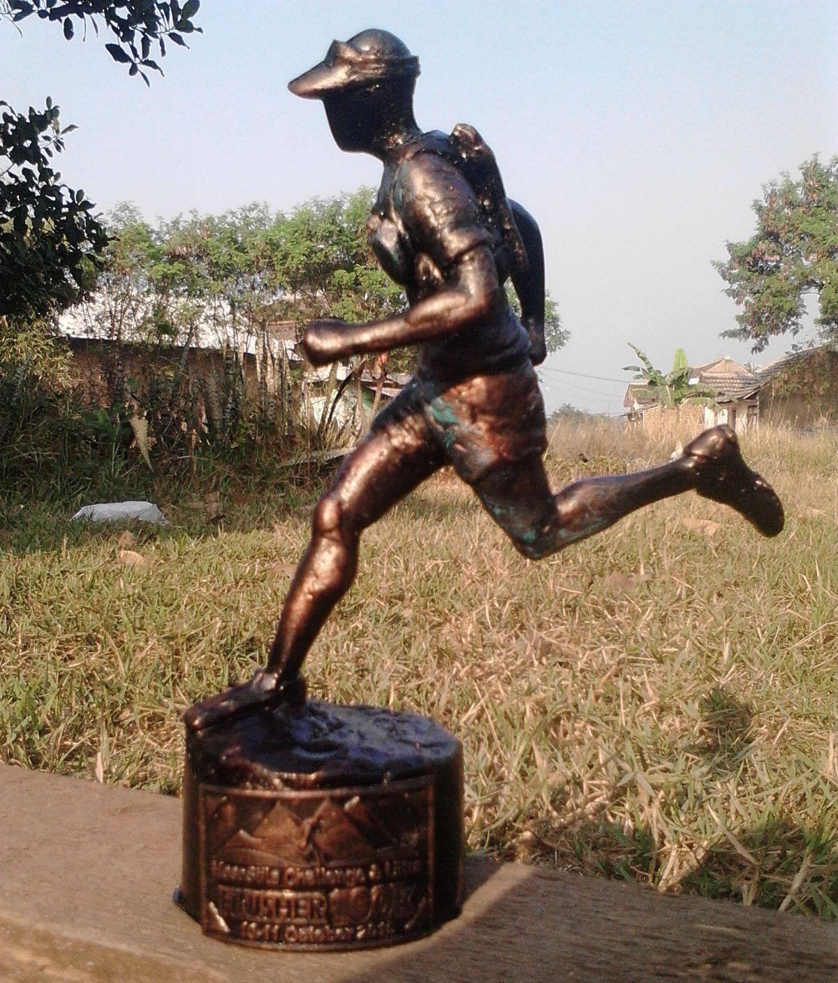 The Mesastila Trophy for this weekend's champions in Central Java.
