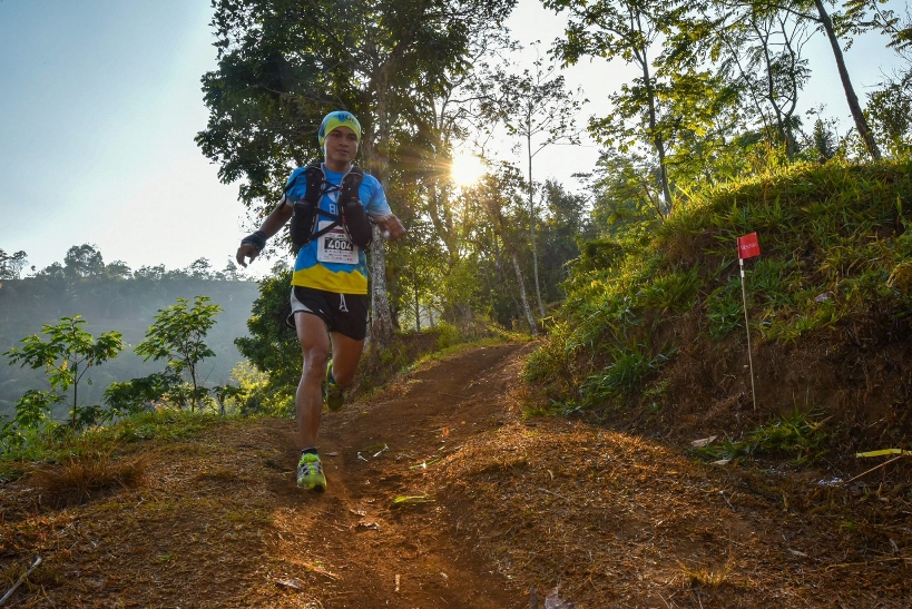 Arief Wismoyono ran a smart race to take his second Asia Trail Master race victory
