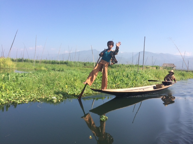 Inle Lake is the destination, where you will undoubtedly also be kindly greeted